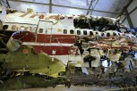 Remains of TWA Flight 800