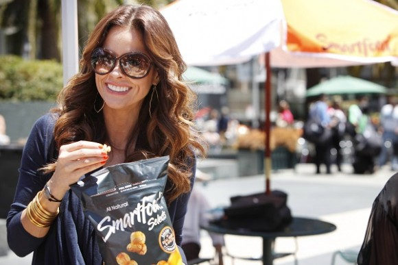 Brooke Burke-Charvet joins the Smartfood brand to celebrate eating and living SMART by kicking off the Smartfood brand's SMART Search 2013 contest on June 20