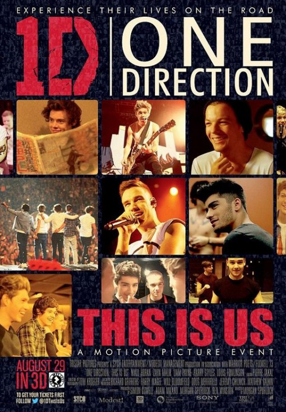 One Direction movie poster for This is Us