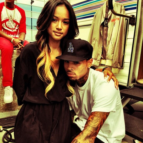 Karrueche Tran & Chris Brown