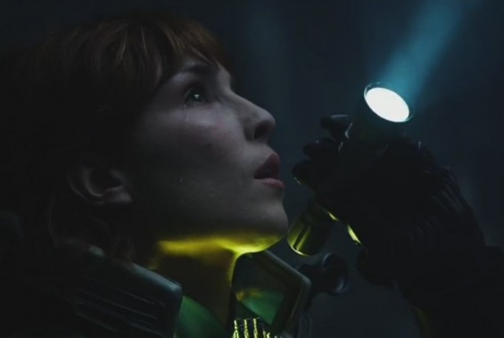 Photo Credit: 20th Century Fox - Noomi Rapace in a scene from Prometheus
