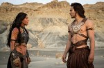 "Photo Credit: Disney -  Lynn Collins and Taylor Kitsch in Walt Disney Pictures' ""John Carter"" - 2012"