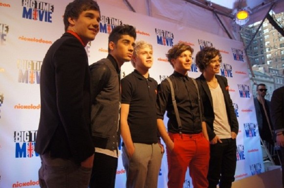 Photo Credit: OneDirectionMusic.com - Members of boy band One Direction