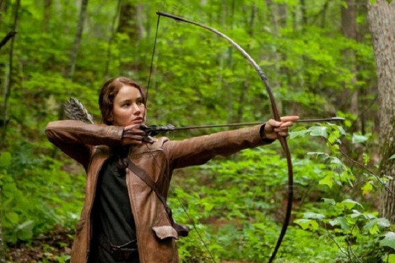 Photo Credit: Murray Close/Lionsgate - Katniss, played by Jennifer Lawrence is seen in a still from &#039;The Hunger Games.&#039;