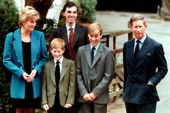 Princess Diana Prince William
