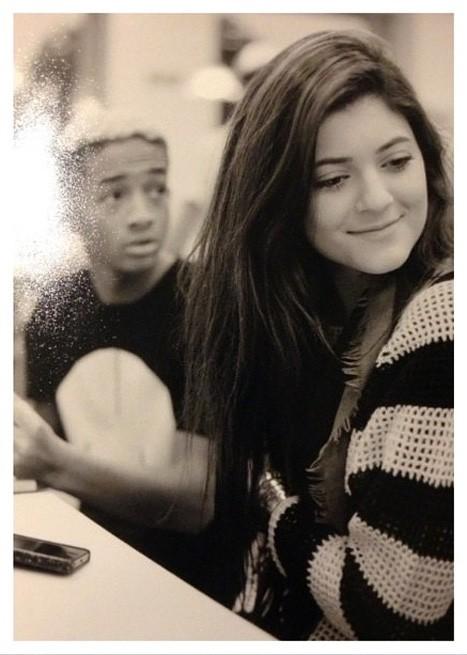 Kylie Jenner Boyfriend Jaden Smith Together PHOTO  Attends  Keeping Up    Kylie Jenner And Jaden Smith Instagram