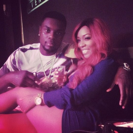 Lance Stephenson and K.Michelle