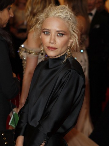 Mary-Kate Olsen arrives at the Metropolitan Museum of Art Costume Institute Benefit celebrating the opening of