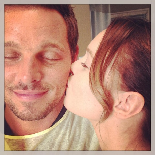 Camilla Luddington and Justin Chambers