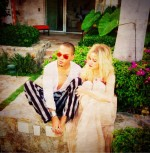 Evan Ross & Ashlee Simpson