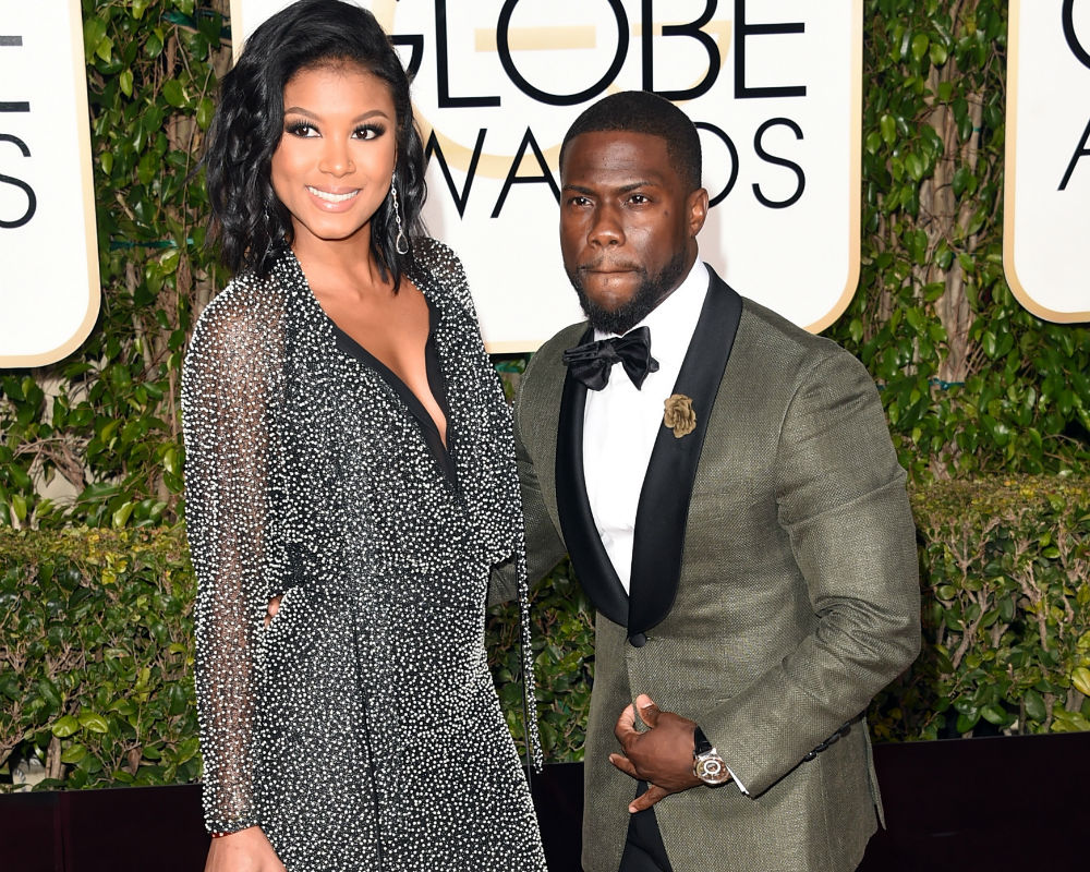 Kevin Hart laughs off cheating rumours