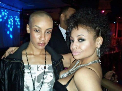 AzMarie Livingston and Raven Symone