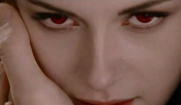 Photo Credit: Summit Entertainment - Bella is seen as a vampire on the first teaser trailer of the Twilight Saga Breaking Dawn Part 2 to be released in November.