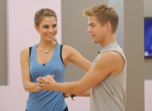Photo Credit: ABC/Todd Wawrychuk - Maria Menounos and Derek Hough
