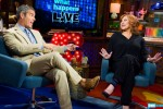 Andy Cohen and Caroline Manzo