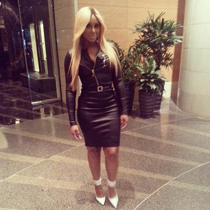 K Michelle Blonde Hair Tamar Braxton K. Michelle Beef Over Blonde Hair PHOTOS; 'Tamar & Vinc...