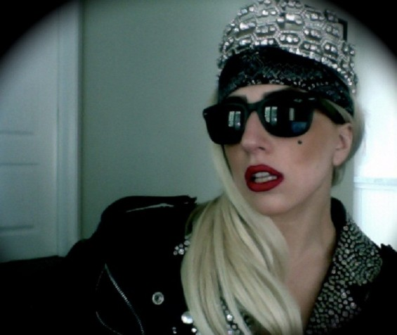 Photo Credit: Lady Gaga via YouTube - Lady Gaga poses in a photo released online on March 28, 2012.
