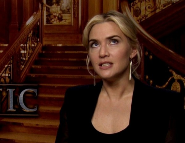 Photo Credit: MTV News - Kate Winslet does an eye-roll in an interview.