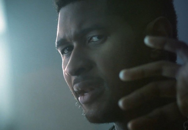 "Photo Credit: RCA Records - Usher in the video for the single ""Climax."""