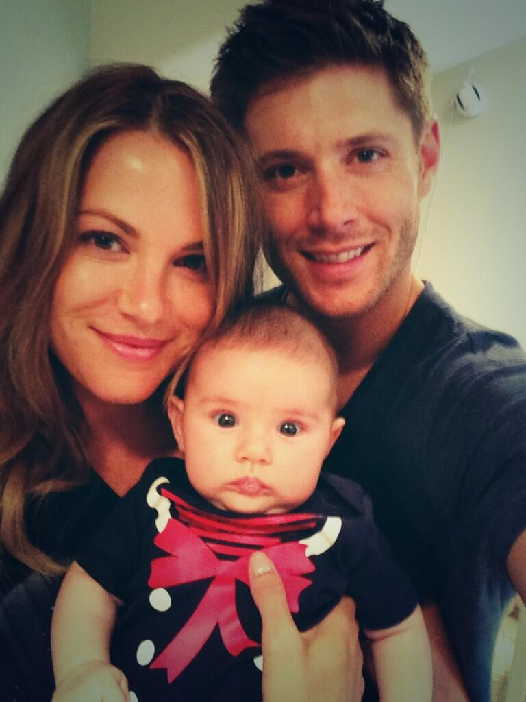 Photo of Jensen Ackles & his   Justice Jay Ackles
