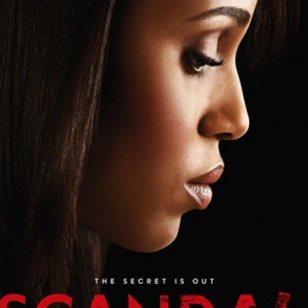 'Scandal' Season 3 poster