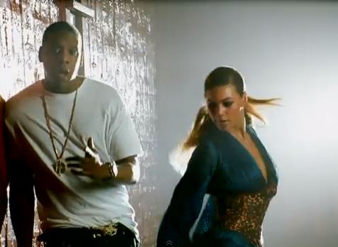 Beyonce and Jay Z in 'Deja Vu'