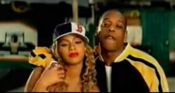 Beyonce and Jay Z in '03 Bonnie & Clyde'