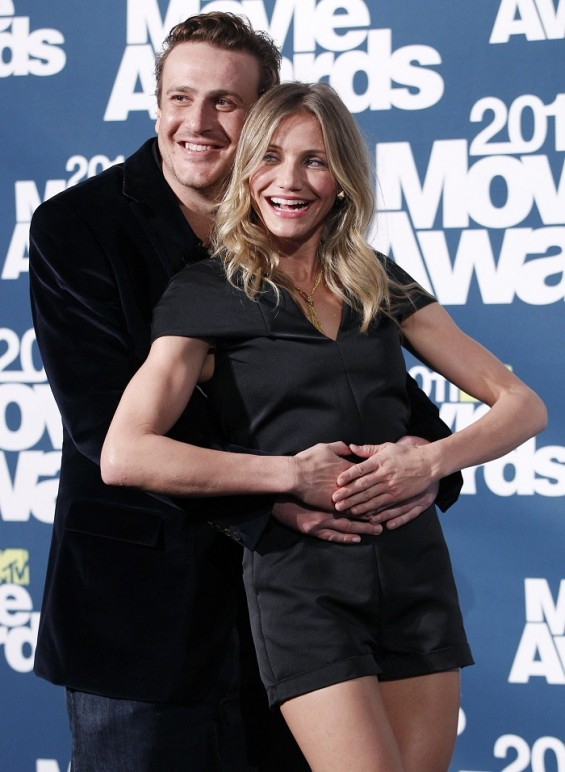Jason Segel and Cameron Diaz