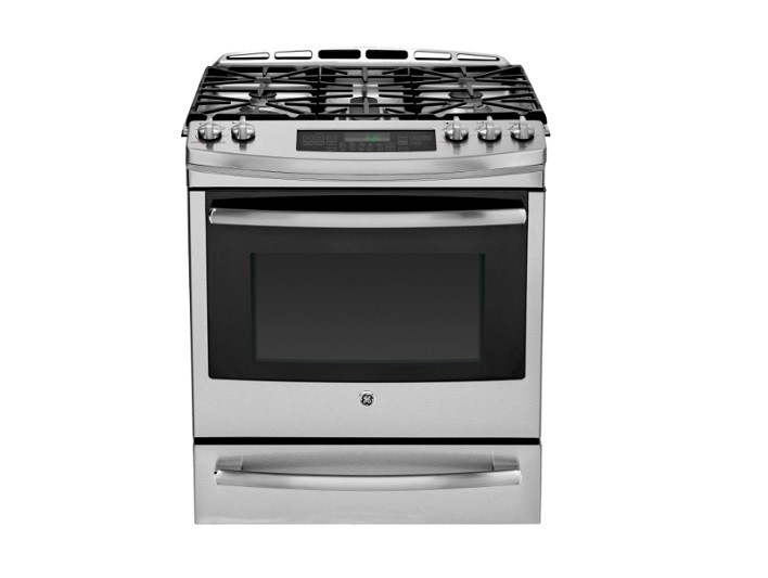 Slide-in Gas Range by GE