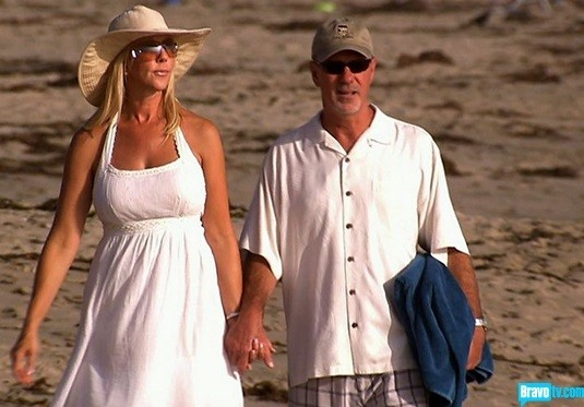Vicki Gunvalson and Donn Wolfsmith.