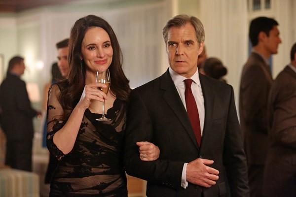 Victoria and Conrad Grayson of 'Revenge'