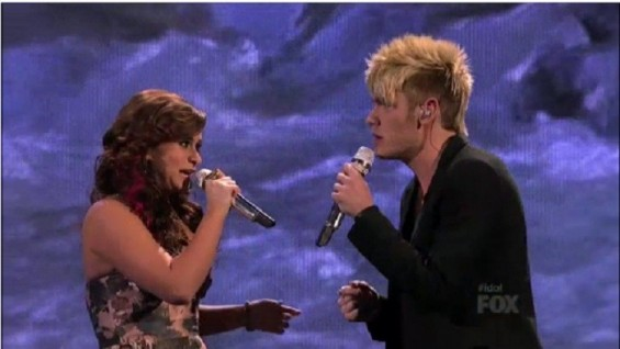 Skylar Laine and Colton Dixon Duet