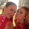 Naya Rivera and Demi Lovato