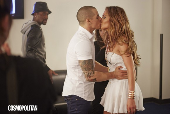 Jennifer Lopez Casper Smart Kiss