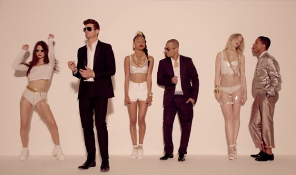Blurred Lines/Robin Thicke