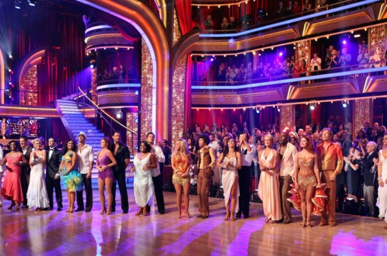 Dancing with the Stars cast.