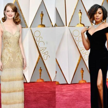 Oscars Best Dressed 2017