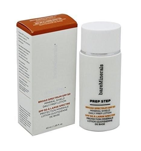 Bareminerals Prep Step Broad Spectrum SPF 50 Mineral Shield Daily Prep Lotion