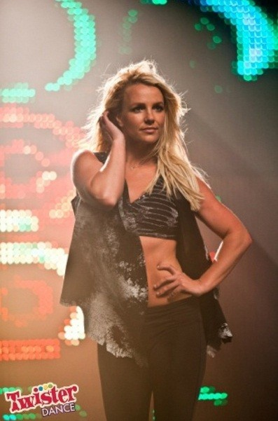 Britney Spears tweeted this photo on April 12, 2012.