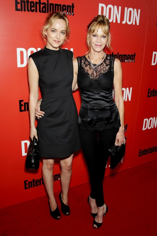 Dakota Johnson and her mother Melanie Griffith