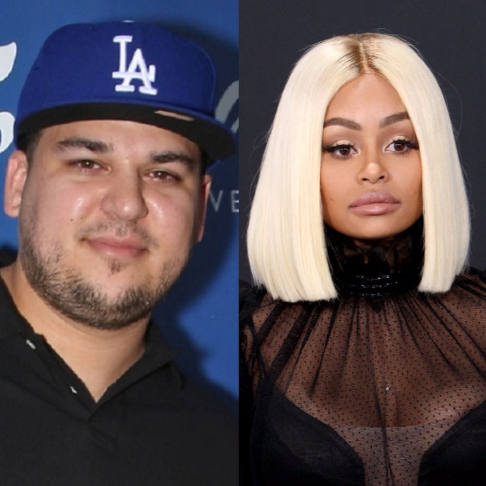 Rob Kardashian Posts Nude Pic of Blac Chyna, Claims She Cheated