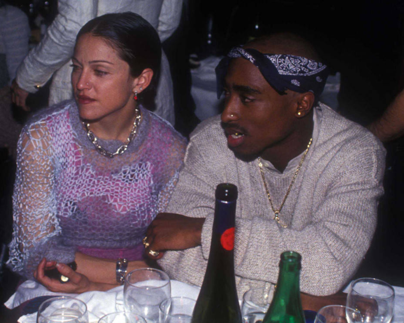 Tupac called off romance with Madonna because she was white
