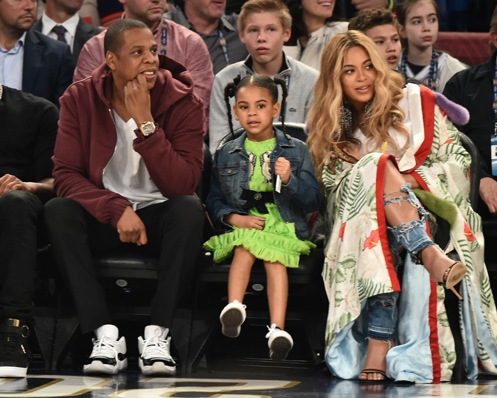 When You're Blue Ivy, Bragging Rights Are A Birthright