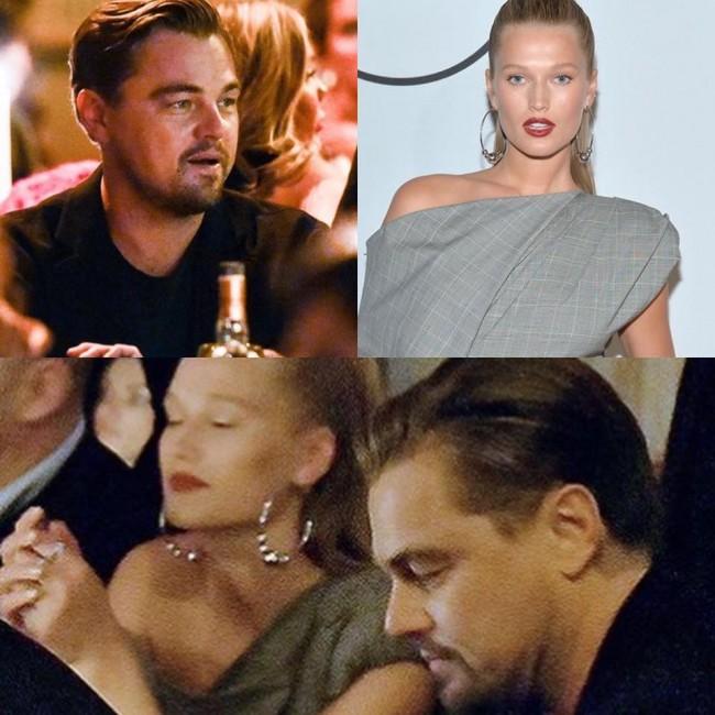 Leonardo DiCaprio and Toni Garn
