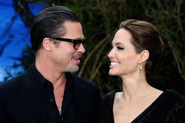 Don't ask Angelina Jolie about Brad Pitt