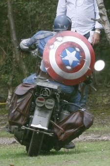 Captain America The First Avenger Motorcycle