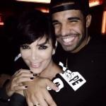 Kris Jenner and Drake