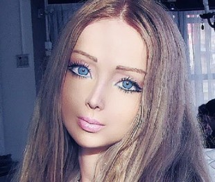 Valeria Lukyanova Before