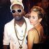 Miley Cyrus & Juicy J Twitter