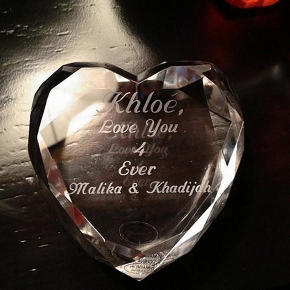Khloe Kardashian Wedding Anniversary Gift